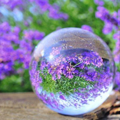 Sphere Crystal Ball 60mm Clear Globe Photography Effect Studio Camera Accessory