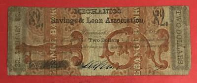 1862 $2 US OVERPRINT ERROR! Front Overprint on Other Other Note! SCARCE