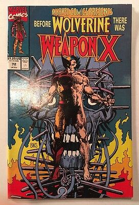Marvel Comics Presents #72 VF (Wolverine/Weapon X)!