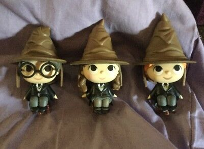 Harry Potter Mystery Minis - Sorting Hat Harry, Ron & Hermione