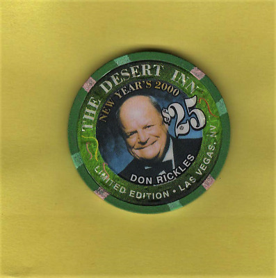 Don Rickles The Desert Inn New Year's 2000 Limited Edition Las Vegas Nv