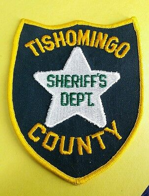 Tishomingo County, Mississippi Sheriff (Police) Shoulder Patch Ms