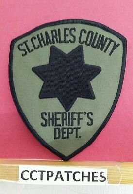 St Charles County, Missouri Sheriff Subdued (Police) Shoulder Patch Mo
