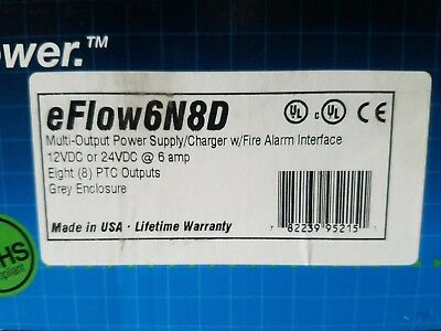 New Altronix eFlow3N4D Power Supply Charger FACTORY SEALED FREE SHIPPING