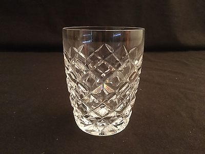 "Single Waterford Crystal Comeragh 5 Oz Tumbler Glass 3 1/2"" H"