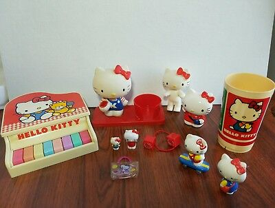 HELLO KITTY LOT SANRIO VINTAGE  1976 & up Rare No Reserve