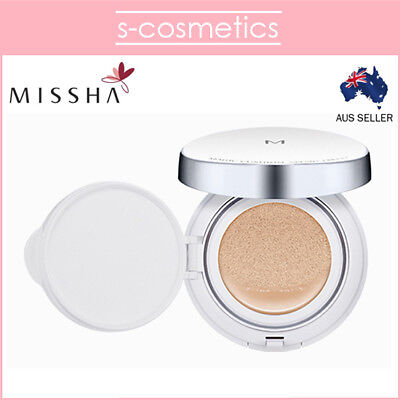 [MISSHA] M Magic Cushion Cover SPF 50+/PA+++ 15g BB Foundation #21 #23