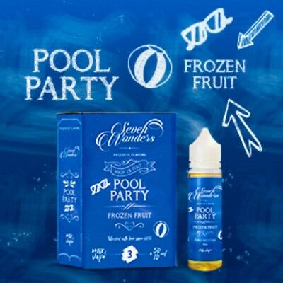 SEVEN WONDERS Pool Party mix series 50+10ML  NIC  3 CONSEGNA 48 Ore Corriere Gls