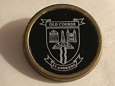 Very Rare Vintage Estate St. Andrews Old Course Golf Marker - Fife, Scotland!!