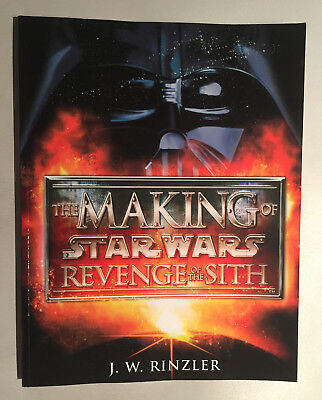 STAR WARS The Making of Revenge of the Sith - J. W. Rinzler - Buch - TOP!