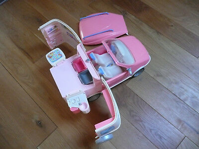 Barbie Auto - Camping mit Boot