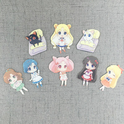 Nice girl Sailor Moon characters Refrigerator Magnet Fridge Sticker Decoration