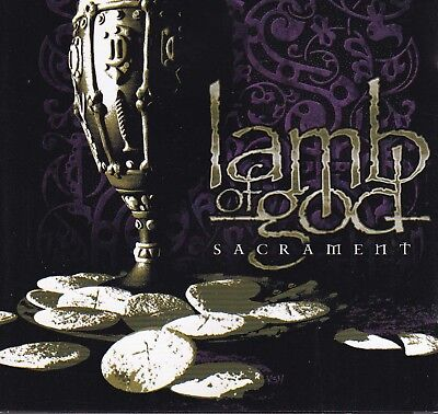 LAMB OF GOD Sacrament CD - New + Bonus DVD