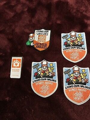 Home Depot Patches Homer Awards and  clip homedepot employee patches