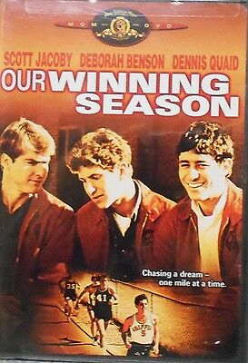 Our Winning Season (DVD 2005)RARE DENNIS QUAID 1ST STARRING ROLE 1978 BRAND NEW