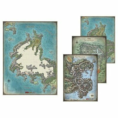 Dungeons and Dragons: Tomb of Annihilation: Map Set