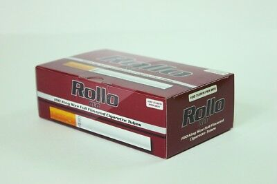 10,000 ROLLO Red Tobbacco Cigarrette filter tube 8.4mm KING SIZE Bulk Wholesale