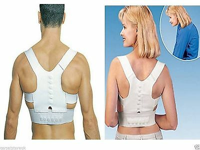 Teenager Black All Sizes Magnetic Body Posture Support Corrector Belt,  All Gift