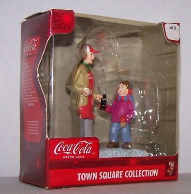 Coca Cola Town Square Collection Christmas village people