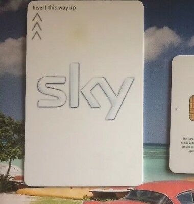 SKY HD Freesat Viewing CARD  ACTIVATED!! **Fast & Free P&p! Sony Movies Included