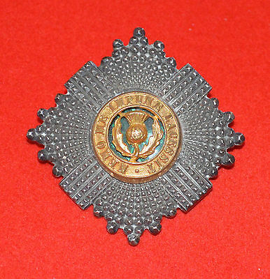 British Army. Scots Guards Original Officer's Pagri Badge