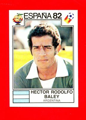 WC ESPANA '82 Panini 1982 - Figurina-Sticker n. 181 - BALEY -ARGENTINA-New