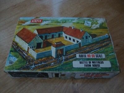 *RARE* L95 Airfix Model Kit 1709 - Battle of Waterloo Farm House H0-00 Scale