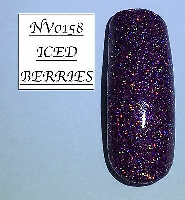 Iced Berries Glittered Acrylic Powder 10G Bag Please See Description