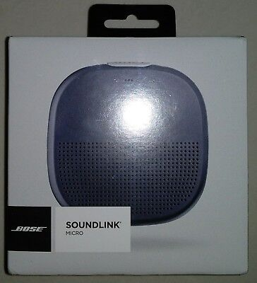 Bose SoundLink Micro Waterproof Bluetooth® Portable speaker (Black,Blue)