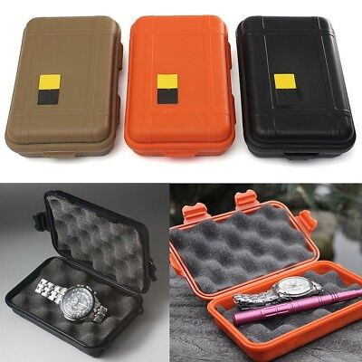 Outdoor Plastic Waterproof Airtight Survival Case Container Camping Storage Box
