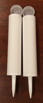 2 pack - Empty Fillable Caulking Tube/Cartridge - Made in USA - Brand New
