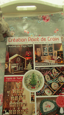 Creation Point de Croix °67, Veronique Enginger, DMC, Ausgabe Dez. 2017