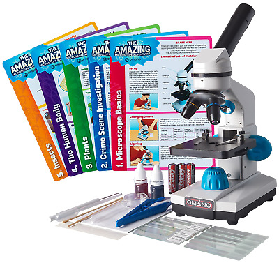 Microscope for Kids and Students with Starter Kids Microscope Kit JuniorScope