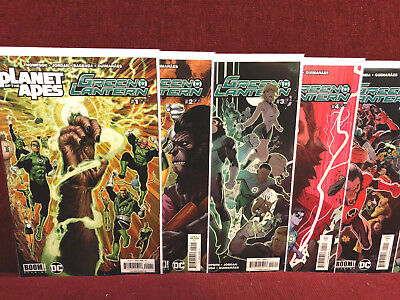Planet of the Apes Green Lantern 1 - 6 Complete NM