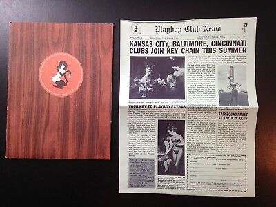 Playboy Club Package, 11 piece lot, vintage, good condition, 1964.