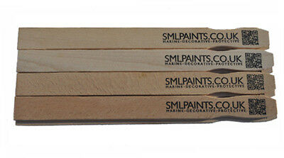 10 x 30cm Paint Stirrers, Paint Mixing Sticks, Mixing Sticks. Top quality beech.