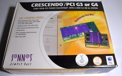 Sonnet Crescendo PPC G4-700 CPU-Upgrade für Apple PowerMac 7300, 7500, 7600 neuw