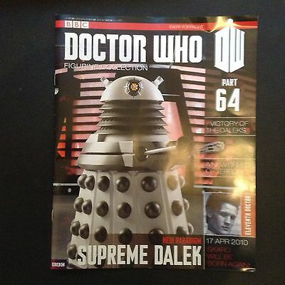 Doctor Who - Figurine Collection - issue 64 - New Supreme Dalek (MAGAZINE ONLY)