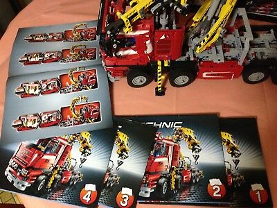 lego technic crane truck 8258 eur 150 00 picclick de. Black Bedroom Furniture Sets. Home Design Ideas