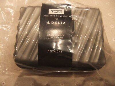 Delta Air Lines Skyteam Tumi Amenity Kit, Hardcase, Neu, OVP,