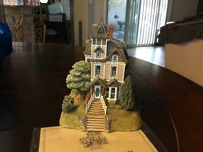 Lilliput Lane Cottage American Landmark Victoriana by Ray Day 1991 Low # 3/2500