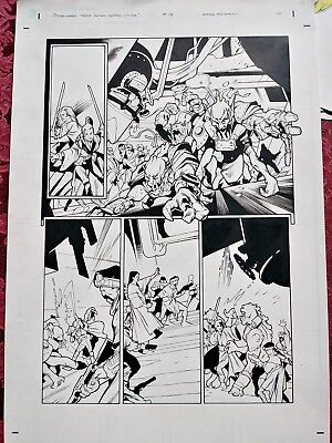 🌌 STAR WARS TALES #19 pg5 Original Tocchini & Wagner Comic Art FREE COMB SHIP!