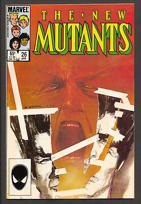 The New Mutants #26 (1984)~1st Legion appearance~Chris Claremont~VF