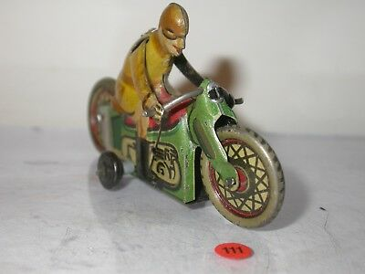 Paya, Spain, Penny toy Motorbike, Manufactured in the 30's.