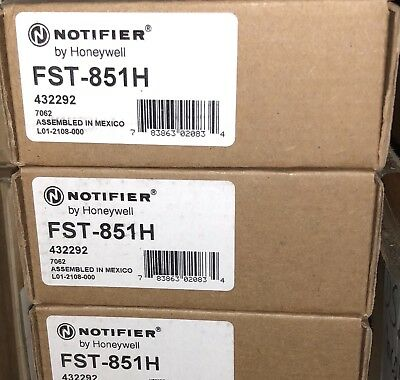 Notifier Fst-851H Heat Detector Head Sensor, New, Free Shipping !!!