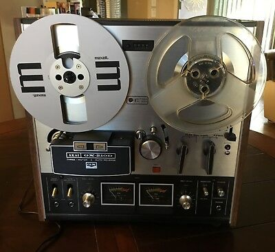 VTG AKAI  GX-210D AUTO-REVERSE- STEREO  REEL-TO-REEL TAPE DECK Mint Condition
