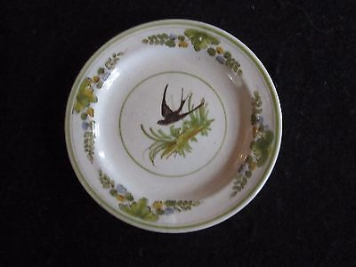 Vintage Antique Cantagalli Firenze Centro Tavola Small Plate Rooster Mark Euc