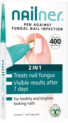 Nailner Pen 2 in 1 Repair 400 Applications Toe Fungal Nail Treatment 4ml