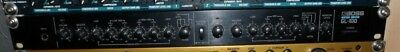 Boss GL-!00 Analog Vintage Guitar Driver 2 Channel Preamp Rare 19Zoll
