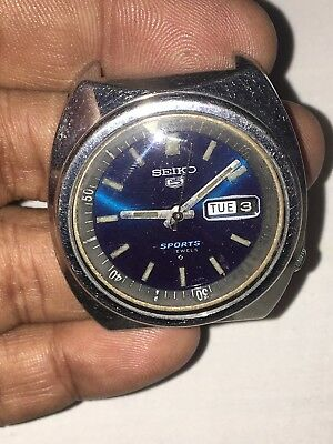 Seiko 5 Sports 6119-6023,S#661934F,Automatic,Working Men Watch